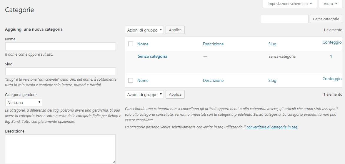 come-configurare-la-bacheca-di-wordpress-categorie